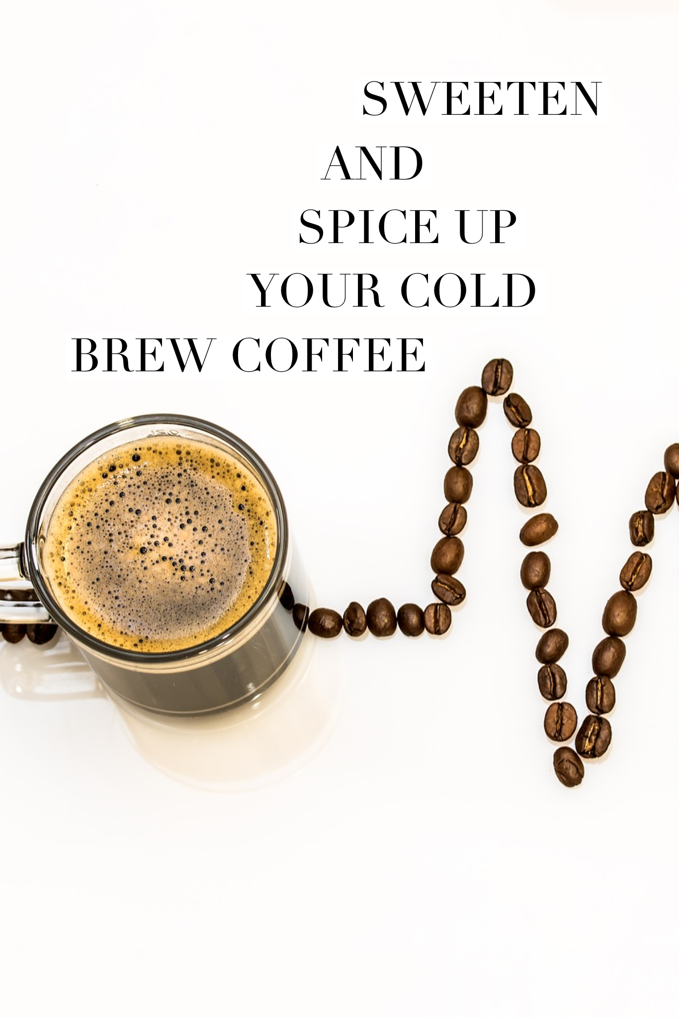 healthy ways to sweeten coffee