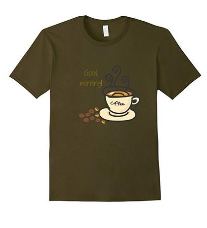Good morning coffee tshirt