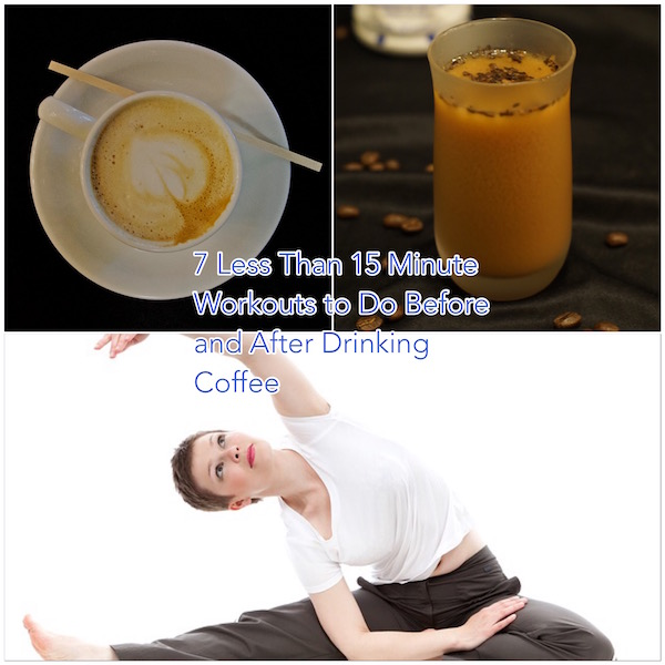 coffee and workout