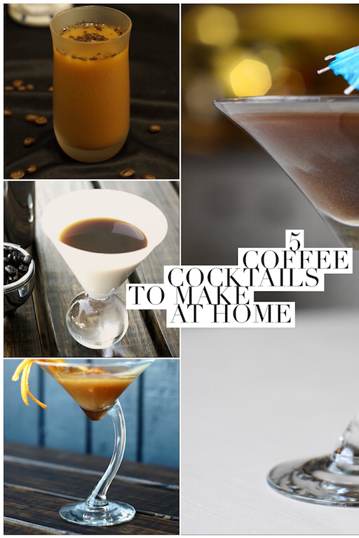 5 coffee cocktails recipe