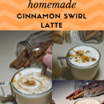 Easy Homemade Cinnamon Swirl Latte
