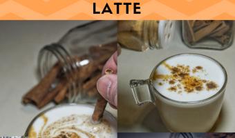 Easy Homemade Cinnamon Swirl Latte