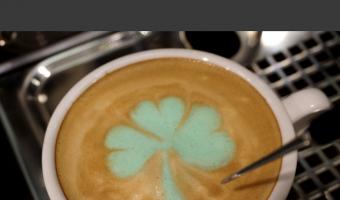 St Patrick's Day Latte: How to Make Irish Shamrock Latte