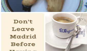 Don't Leave Madrid Before Having Churros and Cafe con Leche