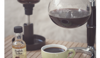 How to Brew English Toffee Siphon Coffee