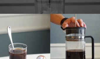 How to Brew Iced Cayenne Pepper Coffee with French Press