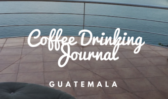 Coffee Drinking Journal in Guatemala