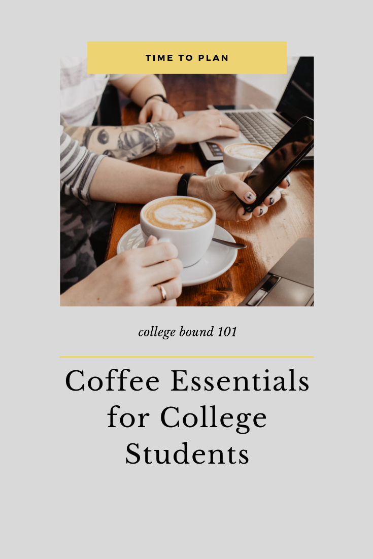 coffee essentials for college students