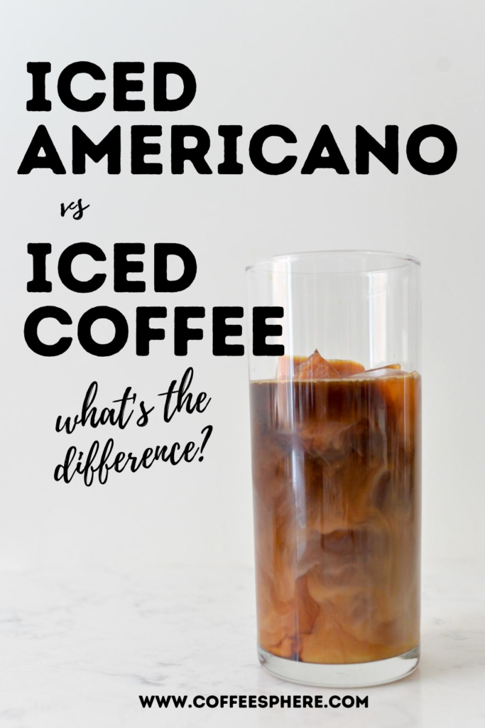 Iced Americano vs Iced Coffee: What's the Difference?